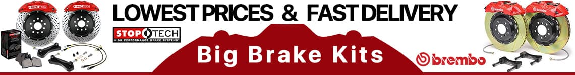 Big Brake Kits - LOWEST PRICES and FAST DELIVERY